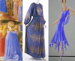 lanvin blue dress