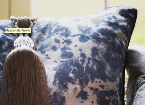 Olivia bard- Maconnais fabric lifestyle